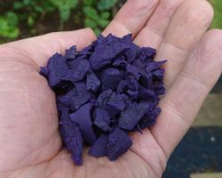 Garuda 100% wire free Purple Rubber Chipping